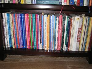Quilt Book Shelf
