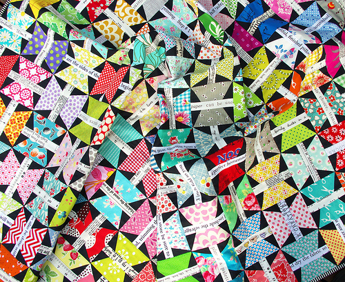 Butterfly Quilt ~ Quilted